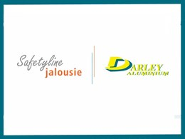 Darley Aluminium to distribute Safetyline Jalousie louvre windows