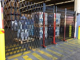 ATDC's expandable fencing in high demand for securing bonded warehouses