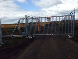 Magnetic's MCG cantilever gate delivers perimeter protection at regional airport