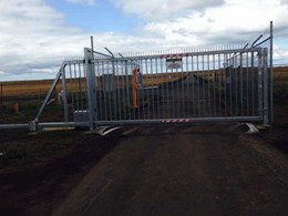 Magnetic's MCG cantilever gate provides perimeter protection at regional airport