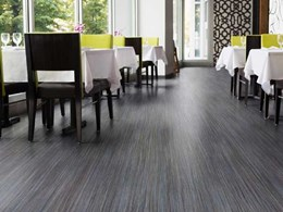 Polyflor releases new Expona Flow PUR commercial vinyl flooring collection