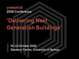 Prefab conference explores the future of the built environment in Sydney