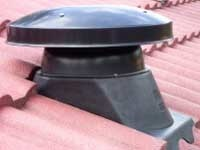 Solar roof extraction fan joins Skydome's ventilation range