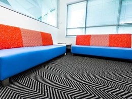 Ontera carpets contribute to visually striking fitout at UXC Brindabella office