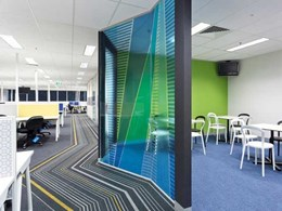 Ontera carpets customised to achieve branding goals for Dun & Bradstreet office