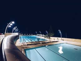 Autonomous lighting control installed at Scarborough Beach Pool