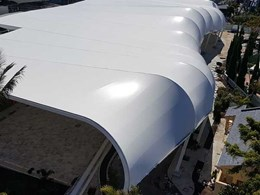 MakMax customises fabric canopy for SeaWorld Gold Coast