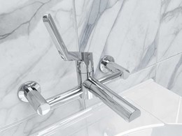 New Sequential Leva ergonomic mixer taps for effortless activation