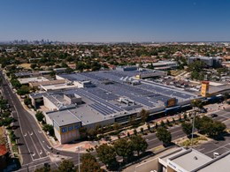 Biggest shopping centre solar installation in Melbourne