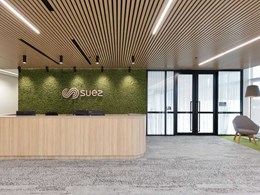 Eco-friendly panels contribute to sustainable office fitout