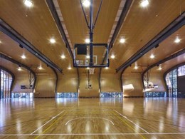 Magnificent contours define iconic multi-purpose sports hall