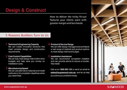 Design & construct, how to deliver the tricky fit-out features your clients want