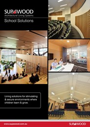 School solutions, lining solutions for stimulating & secure environments
