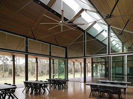 Building Studio Architects design sustainable bush retreat for boys' school