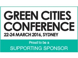 Networking opportunities for delegates at Green Cities 2016 sponsor GECA's coffee lounge