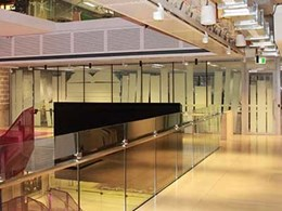 Greene Fire installs massive fire curtains at Martin Place office fitout