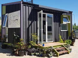 Cemintel's SimpleLine cladding delivers design freedom at compact home project