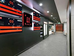 Fitness First refurbishment maintains 'Platinum' standard with Territory Concrete cladding