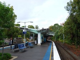 ARCPANEL roof system installed at Turramurra train station