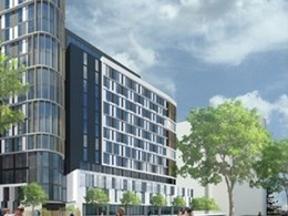 Geberit Pluvia overcomes design challenges at Brisbane student accommodation