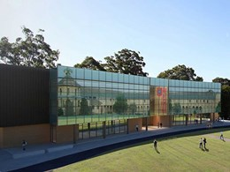 Motorised blinds with BMS integration installed at Australian Catholic University
