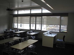 Blockout and sunscreen blinds installed at WSU Campbelltown