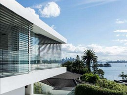 Motorised Warema external blinds add elegance to stunning Sydney home