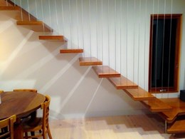 Vertical wire balustrades a better alternative to glass balustrades