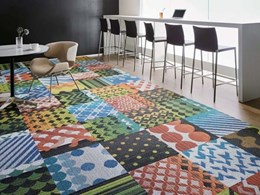 Colour and vibrancy the themes for Nolan's new carpet tile ranges