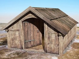 So what did a Viking 'House of the Dead' look like?