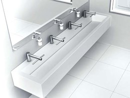 Corian-Dyson collaboration to create new integrated solutions for commercial bathrooms