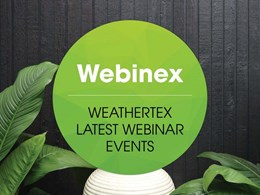 Weathertex's CPD webinar series for March and April