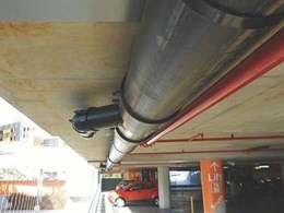 Geberit's siphonic roof drainage creates more space in Wollongong Hospital carpark