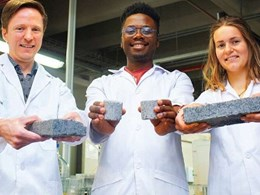 Bricks from human urine provide a new stream of waste recovery
