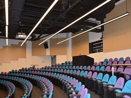WSU Capital Works find effective acoustic panels for performing arts theatre