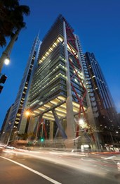 NAPEAN structural steel features on latest Sydney high-rise