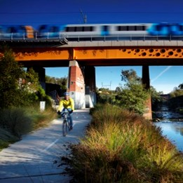 Landscape Design winner 2012: Clifton Hill Rail Project by Jeavons Landscape Architects