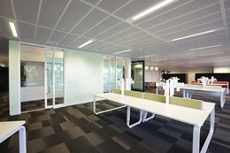 Sydney's Commonwealth Bank Place offices feature SAS International metal ceiling solutions