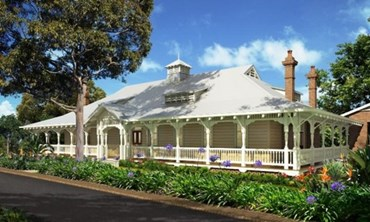Australand 39 s cconverted heritage buildings now available for Ranch style homes australia