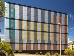 World's largest periodic table created on ECU's science building facade with Kingspan panels