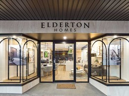 Easyline decorative panels provide texture and interest at Elderton Homes' Rebuild Studio