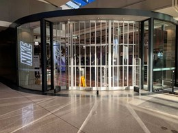 Macarthur Square Nike store sports ATDC's commercial folding doors