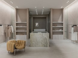 X-Bond's raw texture balances luxurious elements at Viktoria & Woods Chadstone store