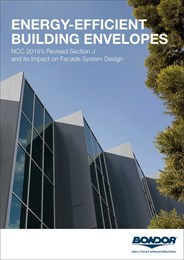 Energy-efficient building envelopes