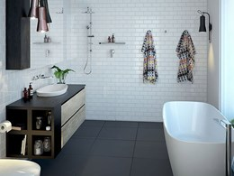 Stylish, sustainable bathrooms designed for the Modern Australian: The Vogue Collection