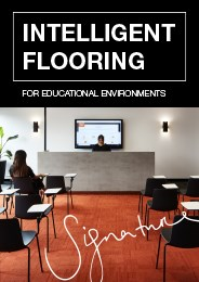 Intelligent flooring for educational environments