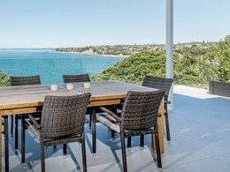 Outdure deck frames and tiles provide low maintenance solution for coastal home balcony