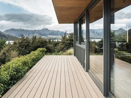 Outdure decking installed on challenging site at Lake Wanaka retreat
