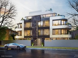 Getting all personal with new Art Deco apartments