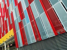 Dragon Scale façade panels meet strict considerations at QE11 Medical Centre carpark
